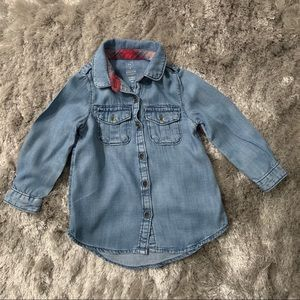 Baby Gap Denim Button Down Shirt